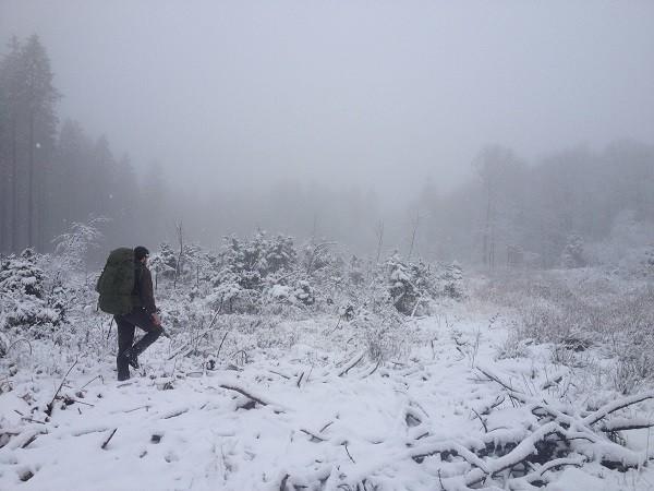 Toch een paar uurtjes in de sneeuw
