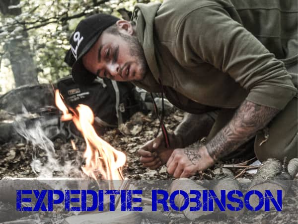 Dave Roevink Expeditie Robinson Training